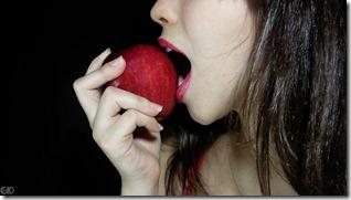 Beautiful-Woman-Eating-An-Apple-102213F702C62640